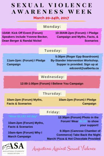 Week Activities