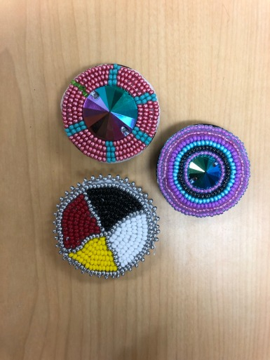 Photo by Isabella Bourque. Beading from the ASO's November beading event.