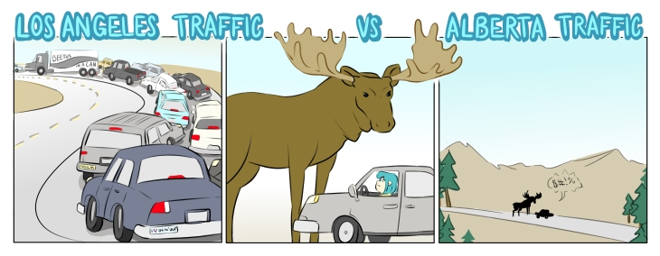 LA Traffic vs. Alberta Traffic (clean ver.)
