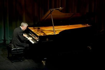 Roger Admiral performs at the Jeanne & Peter Lougheed Performing Arts Centre Jan. 20.