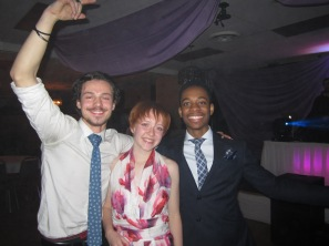 Augustana students enjoy their time during the annual Formal held at the Norsemen Inn Feb. 2.