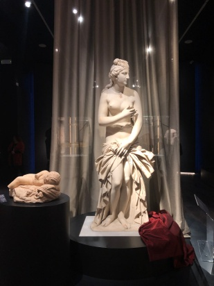 A statue of Aphrodite in Athens.